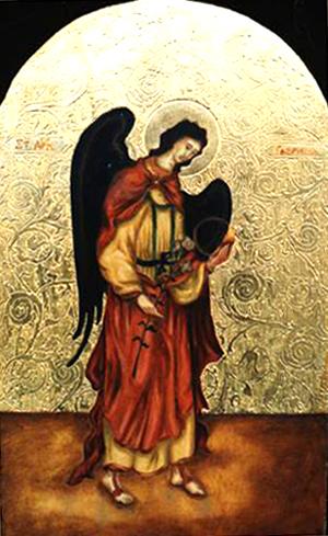 Art Studio by Sergiy Burtovyy - iconography - holy Gabriel
