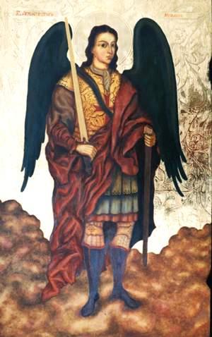 Art Studio by Sergiy Burtovyy - iconography - holy Michel