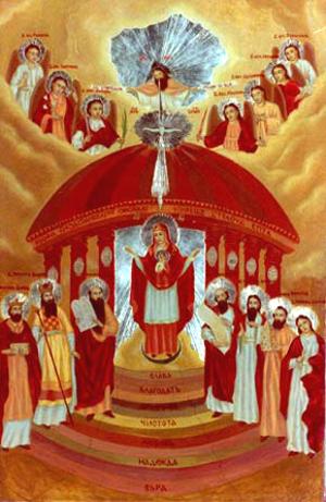 Art Studio by Sergiy Burtovyy - iconography - Sofia wisdom of God